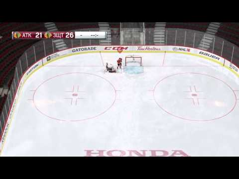 NHL 16 PS4. Artemy Panarin # 72 ! Free throws against the goalkeeper !