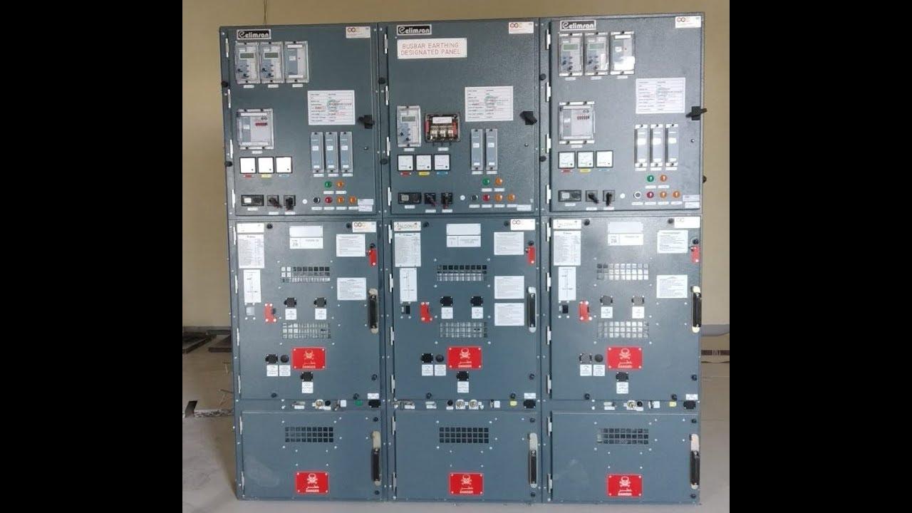 [SCHEMATICS_4FD]  11 kv Switchgear view - YouTube   11kv Control Panel Wiring Diagram      YouTube
