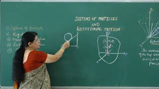 I PUC   Physics   Systems of Particles and Rotational motion- 01
