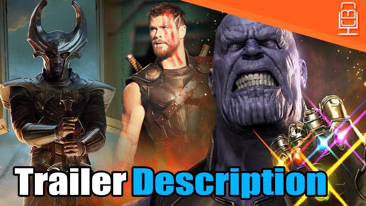Avengers Infinity War Trailer Description Leaks Early
