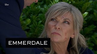 Emmerdale - Graham Tells Kim That Joe Is Dead