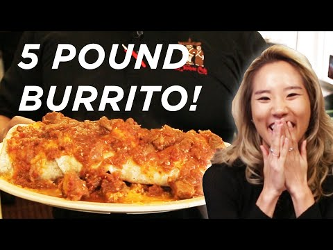 We Tried The 5-Pound Burrito Challenge