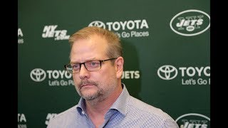 What should Jets' Mike Maccagnan aim to do at Senior Bowl?