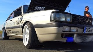 Audi 90 Quattro 20V Turbo 800 HP +++ Sound & Acceleration