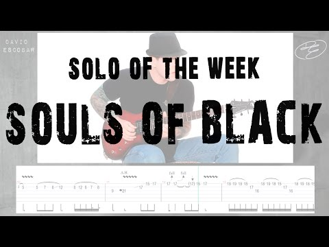 Solo Of The Week: 44 Testament  Souls of Black