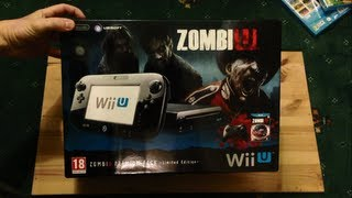 Unboxing Nintendo Wii U Limited Edition ZombiU Premium Pack