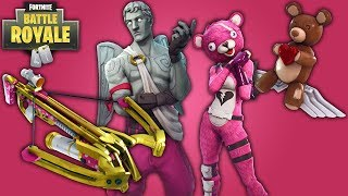 NEW EPIC CROSSBOW - VALENTINES DAY ITEMS: Fortnite Battle Royale Valentines Day Update - Patch Notes