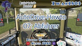 🚜 LS19-Howto AutoDrive 07: Abfahrer (Drescher)