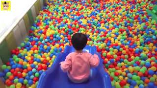 Indoor Playground Family Fun Play Area for Kids Baby Nursery Rhymes Song Children | MariAndKids Toys