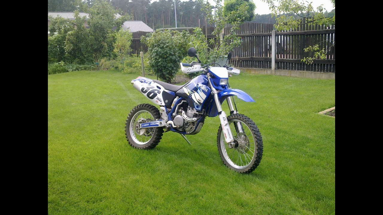 raw yamaha wr 400 f 2000 yz exhaust brutal sound. Black Bedroom Furniture Sets. Home Design Ideas