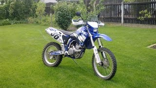 RAW: Yamaha WR 400 F (2000), YZ Exhaust, BRUTAL Sound, first riding test, no 426 450