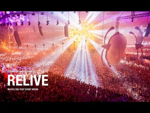 Sensation Amsterdam 2012 'Source Of Light' post event movie