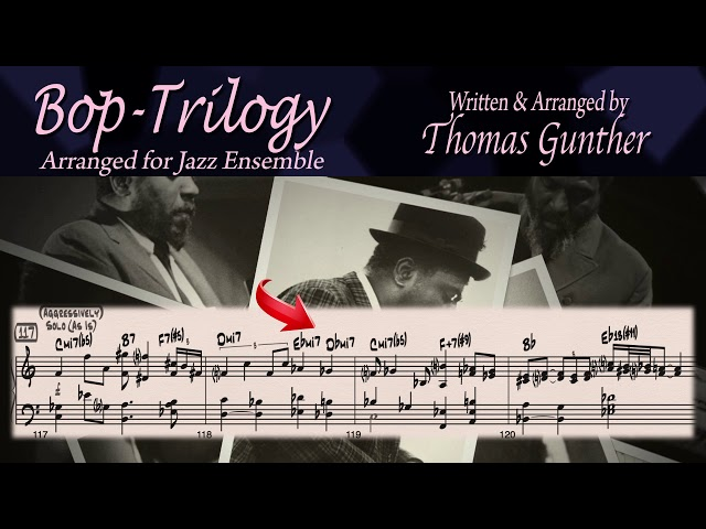 Bop-Trilogy by Thomas Gunther featuring The Chicago Jazz Ensemble and Jon Feddas