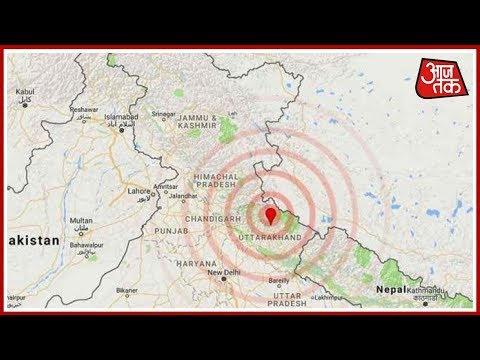 Earthquake In Delhi, Tremors Felt in Punjab, UP Today