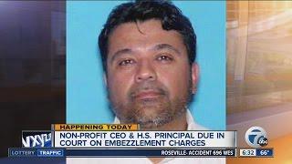 Detroit principal facing embezzlement charges