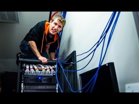 Everything is FINE! Thanks for ASKING.. - Server Room Vlog Pt. 2