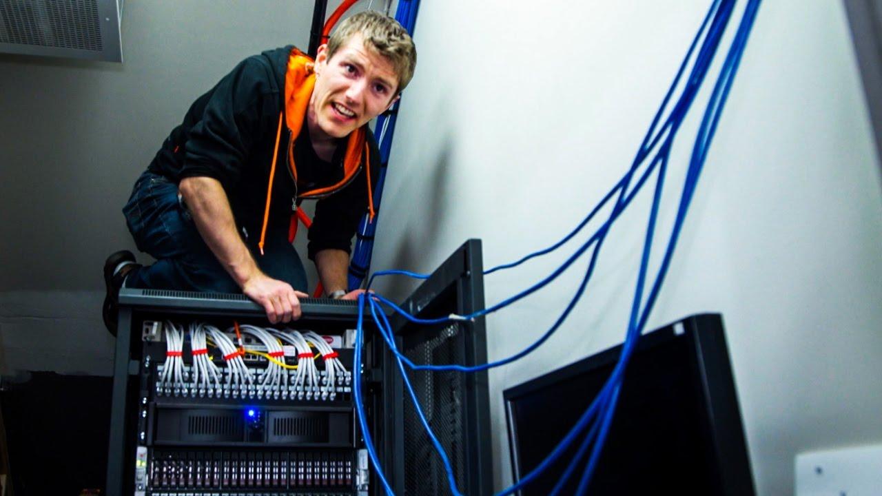 Server Room Ventilation : Everything is fine thanks for asking server room vlog