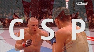 The best moments from Georges St-Pierre's incredible UFC career