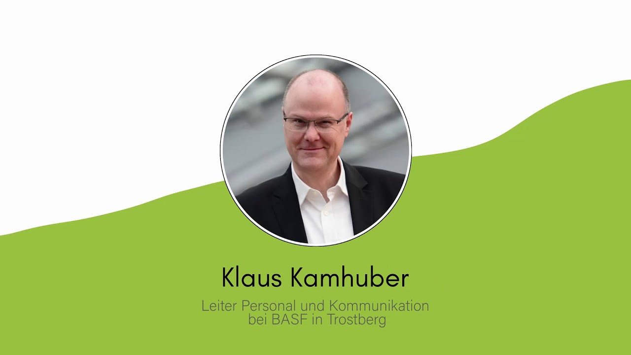 BASF Trostberg im InnovateTheAlps Interview by Alpioneers mit Magdalena Daxenberger