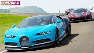 Bugatti Chiron - Forza Horizon 4 | Goliath Gameplay