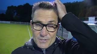 N2 - Alain POCHAT (FC Villefranche) après la défaite de son équipe contre Le PUY 43 2017 Video