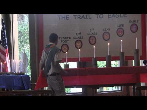 Troop 581, Saratoga Eagle Court of Honor  Video 1 of 7