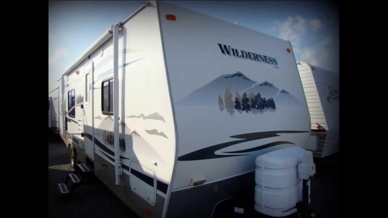 Wilderness Travel Trailer >> Used 2008 Fleetwood Wilderness 260BHS travel trailer RV for sale in Pennsylvania - YouTube