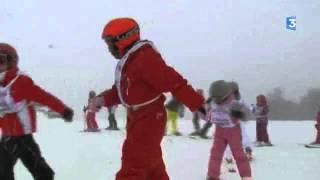 Vosges : la neige est enfin arrivée à La Bresse