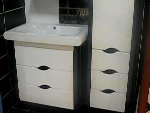 comptoir toulousain carrelage meuble de salle de bain moderne youtube. Black Bedroom Furniture Sets. Home Design Ideas