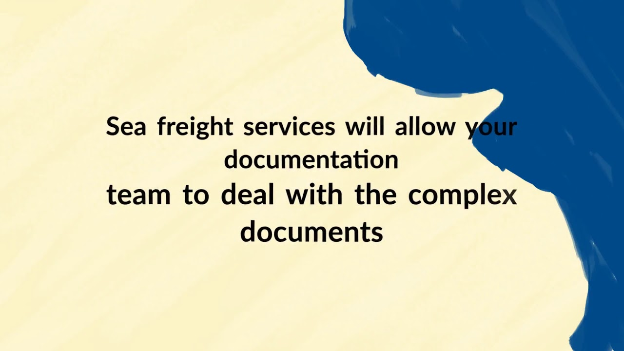 Advantages of Sea Freight Services over Air Freight Services - Ontario Container Transport