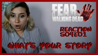 Fear the Walking Dead Reaction S04E01 What's Your Story | Sora Miyano
