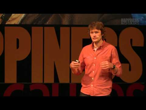 On the trail of Ghengis Khan with Tim Cope at Happiness & Its Causes 2014