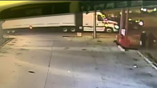 Out-of-control driver speeds through intersection in fatal accident