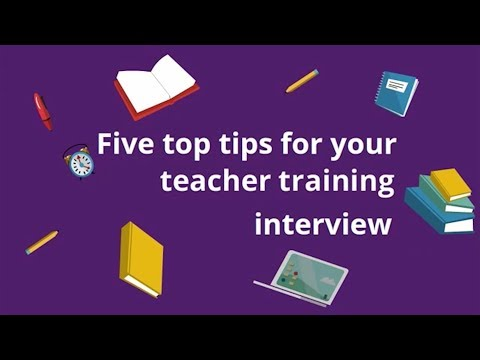Five top tips for your teacher training interview
