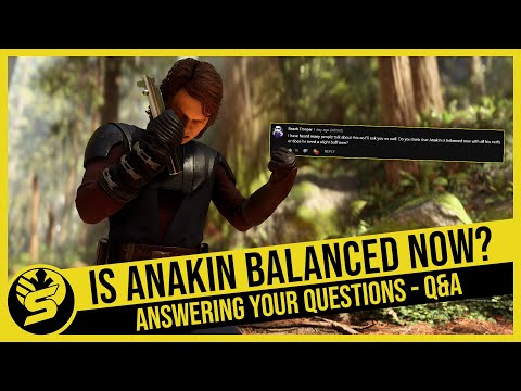 Is Anakin Finally Balanced? What Are My All-time Favourite Games? Answering All Your Questions - Q&A
