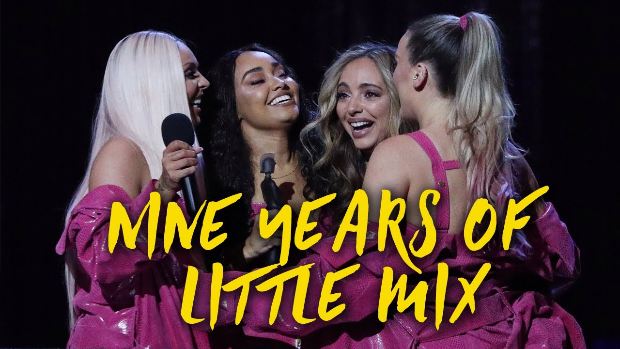 Little Mix's 9th Anniversary: Then vs. Now