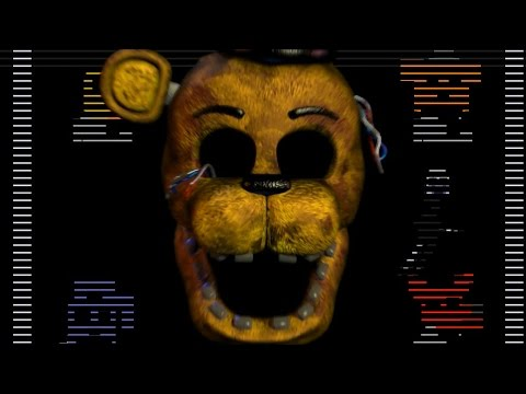 Golden freddy jumpscare five nights at freddy s 2 part 2
