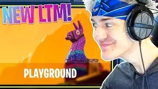 NINJA FINDS *LEAKED* PLAYGROUND LTM! (Fortnite Epic & Funny Twitch Moments #63)