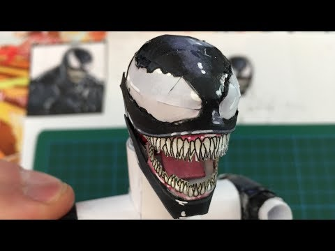 How to Make VENOM! With PAPER – DIY Tutorial