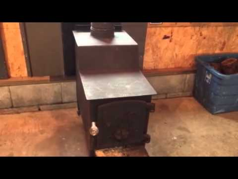 Fisher Baby Bear wood stove info & install - Fisher Baby Bear Wood Stove Info & Install - YouTube