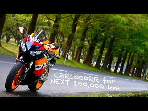 CBR1000RR for NEXT 100,000 km
