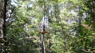 GANARASKA FOREST - TREE TOP TREKKING & ZIP LINING