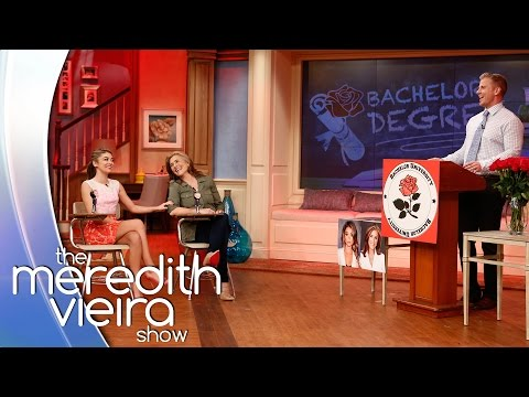 Bachelor Degree With Sarah Hyland & Sean Lowe! | The Meredith Vieira Show