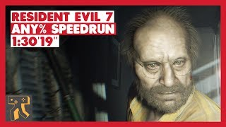 Resident Evil 7 - Any% Speedrun - 1:30'19""