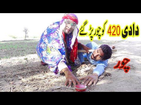 Download Dadi 420 New funny video 2021   Dadi Amma Ko Chor par gae   Daadi 420 Numberdar New funny video Clip