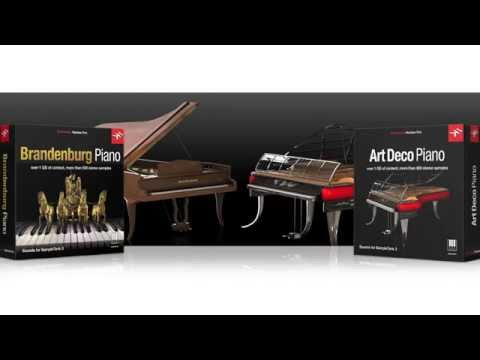 Brandenburg Piano and Art Deco Piano for SampleTank 3