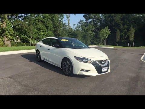 2016 Nissan Maxima Washington DC, Laurel, Ellicott City, Annapolis ...