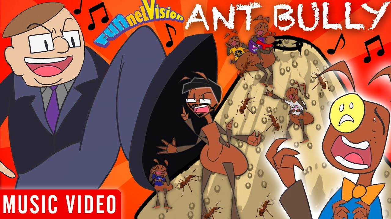 ANT BULLY ???? FUNnel Fam Official Music Video (FV Family Animated Vision)