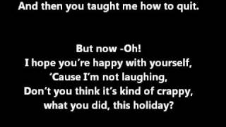 All Time Low - Merry Christmas Kiss My Ass LYRICS ON SCREEN & IN DESCRIPTION