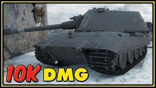 E-100 - 10K Damage - World of Tanks Gameplay